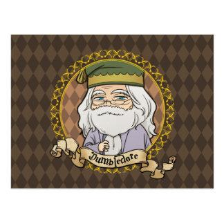 Anime Dumbledore Carte Postale