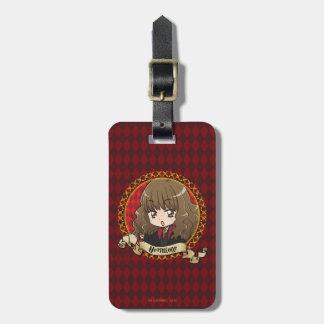 Anime Hermione Granger Étiquette À Bagage