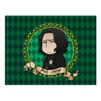 Anime Professor Snape Briefkaart