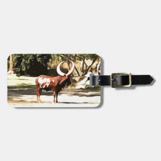 Ankole-Watusi de safari Étiquette À Bagage
