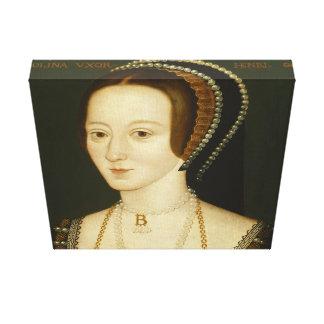 Anne Boleyn - enveloppe de toile