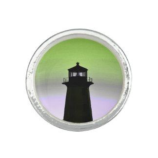 Anneau de la Nouvelle-Écosse d'itinéraire de phare Bagues