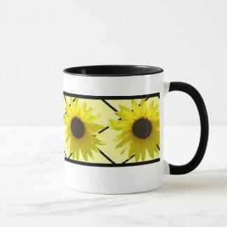 Anneau de tournesol mug
