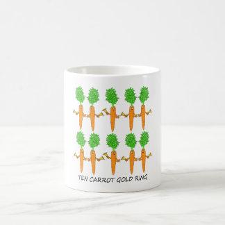 Anneau d'or de Dix carottes Mug