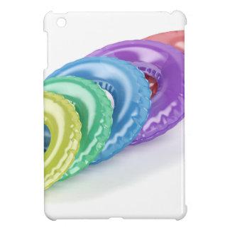 Anneaux colorés de bain coque iPad mini