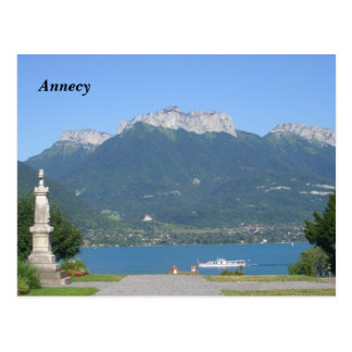 Annecy - carte postale