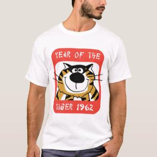 Année chinoise du T-shirt 1962 de tigre