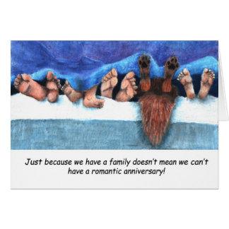 Anniversaire avec des enfants carte de vœux