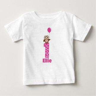 Anniversaire de pièce en t de bébé ęr t-shirt pour bébé