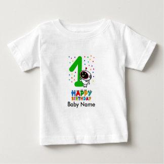 Anniversaire de premier T-shirt d'anniversaire de