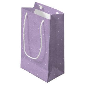 Anniversaire de thé de pois doux - pourpre petit sac cadeau