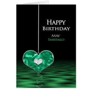 Anniversaire - pierre porte-bonheur - pouvez - carte de vœux