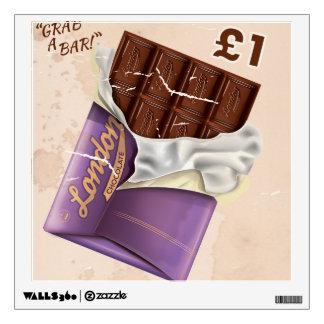 Annonce britannique vintage de chocolat