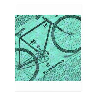 Annonce de vélo carte postale