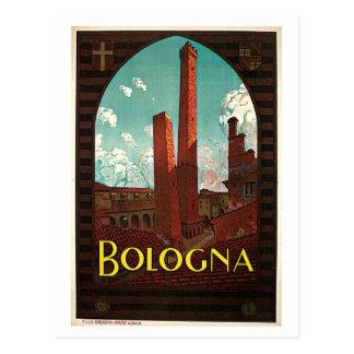 Annonce italienne de voyage des années 1920 carte postale