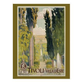Annonce italienne vintage Tivoli Latium Rome de Carte Postale