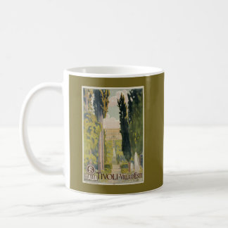 Annonce italienne vintage Tivoli Latium Rome de Mug