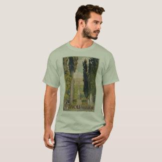 Annonce italienne vintage Tivoli Latium Rome de T-shirt