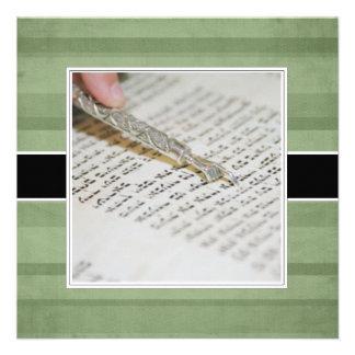Annonces/invitations de bat mitzvah