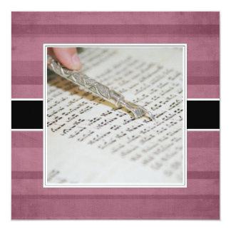 Annonces/invitations de bat mitzvah carton d'invitation  13,33 cm