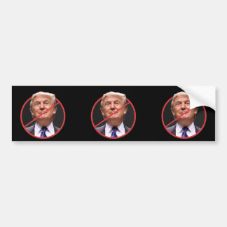 Anti adhésif pour pare-chocs de Donald Trump Autocollant De Voiture