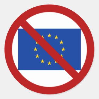 Anti autocollant d'UE