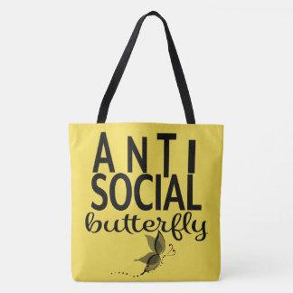 ANTI sac fourre-tout social à papillon
