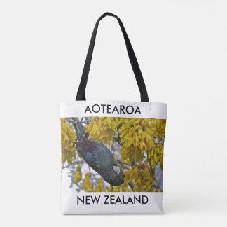 aotearoa Nouvelle Zélande Tui 2 Tote Bag