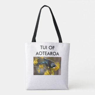 aotearoa Nouvelle Zélande Tui 3 Tote Bag