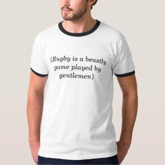 Aphorisme de rugby t-shirt
