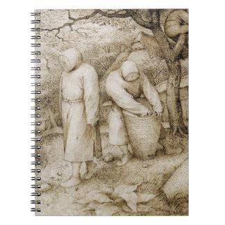 Apiculteurs par Pieter Bruegel l'aîné Carnet