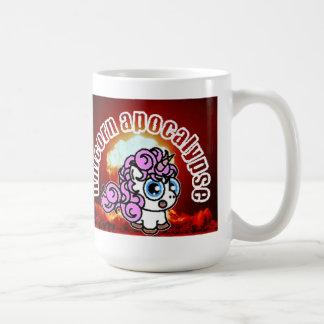 Apocalypse de licorne mug blanc