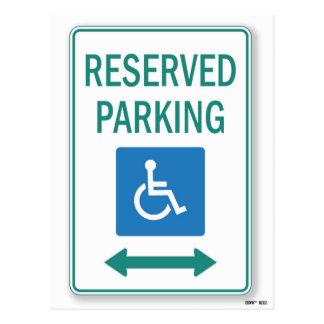 Apparemment vous avez manqué les handicapés garant carte postale