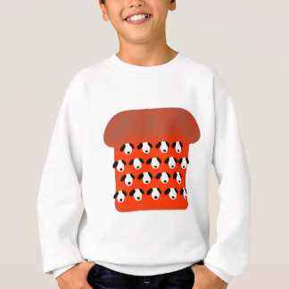 Appartement de chien sweatshirt