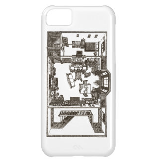 Appartement victorien coque iPhone 5C