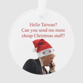 Appel de Noël de l'atout à Taïwan
