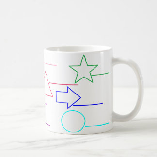 """""""Appelez les formes, couleur dans"""" la tasse de"""