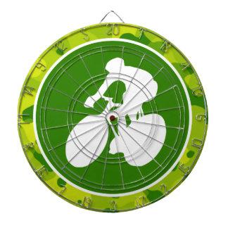 Appelgroene Camo; Het cirkelen Dartbord