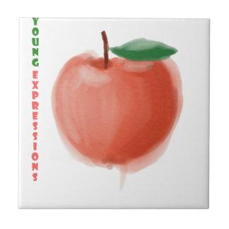 Apple Keramisch Tegeltje