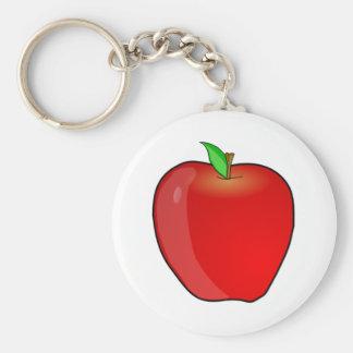 Apple Porte-clé Rond