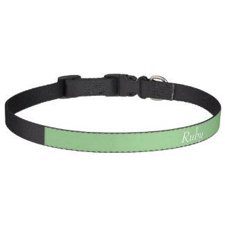 Apple vert personnalisé choient le collier colliers de chiens