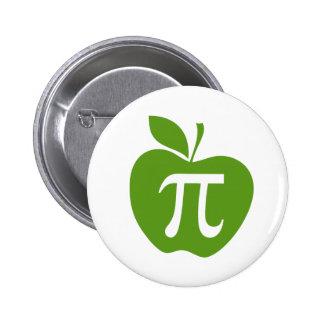 Apple vert pi badge rond 5 cm