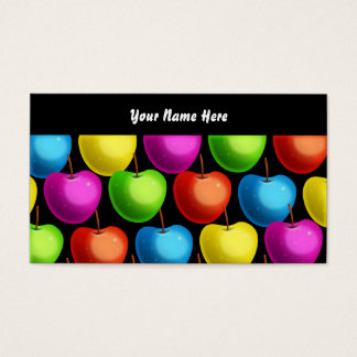 Apple Wallpaper, votre nom ici Cartes De Visite