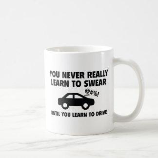 Apprenez à jurer mug