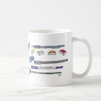 Approvisionnements d'art mug