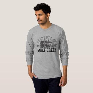 Appui vertical de Wolf Creek - T-shirt