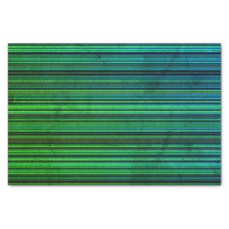 Aqua de Noël de papier de soie de soie vert-bleu