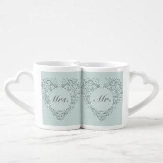 Aqua HeartyChic Lot De Mugs
