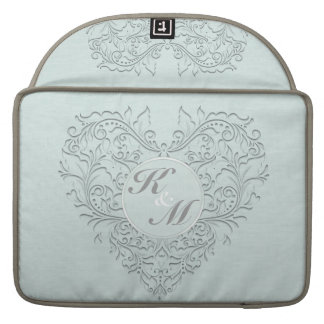 Aqua HeartyChic Poche Pour Macbook Pro