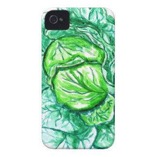 Aquarelle 2 de chou commun coque Case-Mate iPhone 4